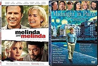 One Story 2 Versions Woody Allen Double Feature Midnight in Paris & Melinda & Melinda 2-Movie Bundle
