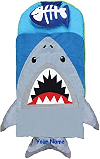 Stephen Joseph Personalized Character Shark Themed Nap Mat