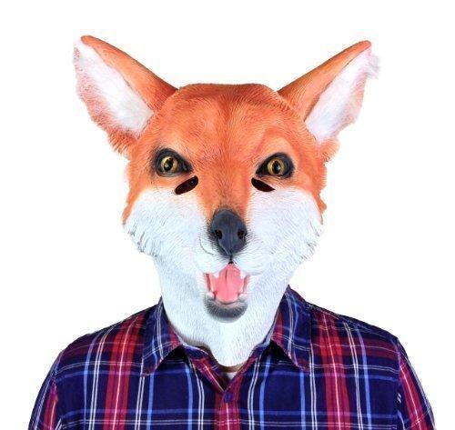 Rubber Johnnies TM Fox Masque Film Qualité Déguisement