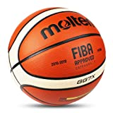 LuSitabqi Molten GG7X Offical Size #7 PU Leather in/Outdoor Training Basketball Match Ball