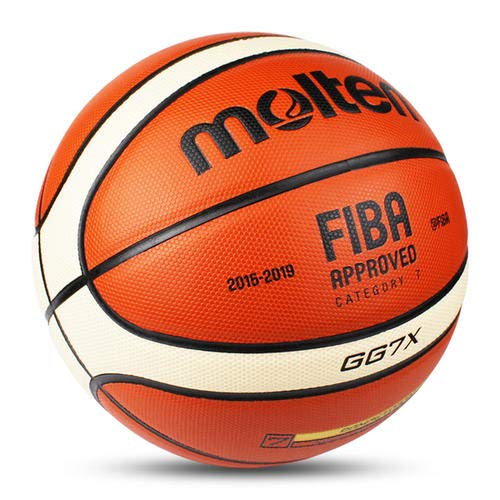 New LuSitabqi Molten GG7X Offical Size #7 PU Leather in/Outdoor Training Basketball Match Ball