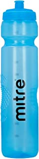 Mitre 1L Sports Botella de Agua, Azul, One Size