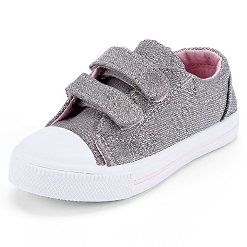 Gray Canvas Shoes Baby Boys