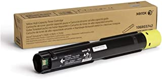 Xerox VersaLink C7020 /C7025 /C7030 Yellow High Capacity Toner Cartridge (9,800 Pages) - 106R03742
