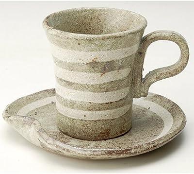 カップ&ソーサー 窯変ライン プチコーヒーC/S [H8.2cm] プレゼント ギフト 和食器 かわいい インテリア