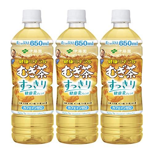 伊藤園 健康ミネラルむぎ茶 すっきり健康麦ブレンド 650ml