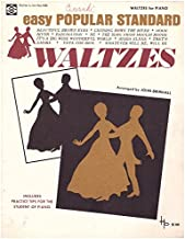 Easy Popular Standard Waltzes for Piano