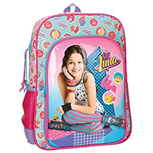 51Yi 0tWWsL. SS300  - Disney 3462351 Soy Luna Mochila Escolar, 40 cm, 15.6 litros, Multicolor