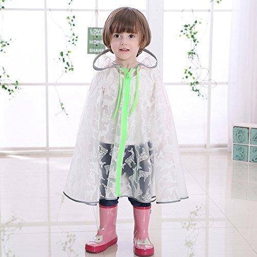 Zhihui poncho ZZHF Yuyi Impermeabile Moda Poncho Moda con Borsa Trasparente Mantello Impermeabile 3 Colori Dimensioni opzionali Opzionale