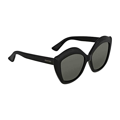 62c604f0acf Gucci GG 0117 S- 001 BLACK GREY Sunglasses