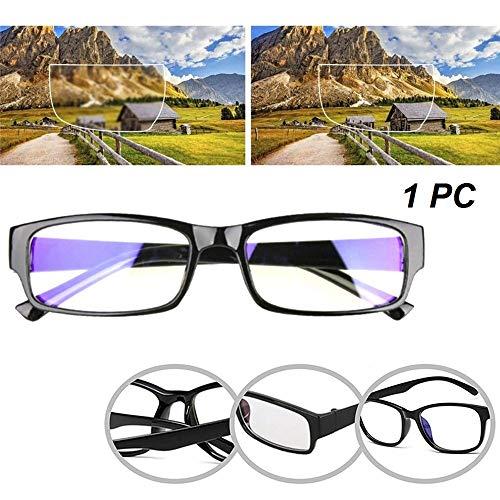 Occhiali da Lettura con Messa a Fuoco Automatica, Occhiali progressivi multifocus per Computer, Occhiali ottici Unisex Regolabili per miopi, lungimiranti e alla Guida (1PC)
