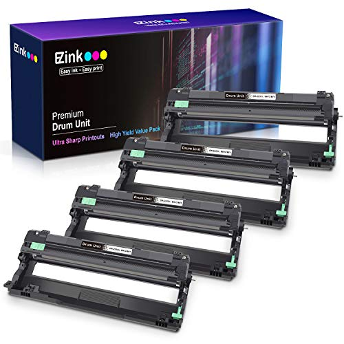 E-Z Ink (TM) Compatible Drum Unit Replacement for Brother DR223CL DR223 DR-223 use with MFC-L3770CDW MFC-L3750CDW HL-L3230CDW HL-L3290CDW HL-L3210CW MFC-L3710CW (4 Pack)