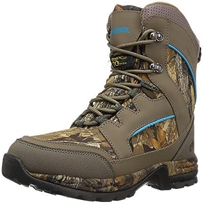 Northside womens Woodbury 800 Hunting Shoes, Stone/Aqua, 7.5 US