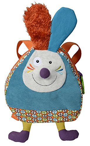 Ebulobo Peace and Love La Happy Farm Rucksack (Jeff the Rabbit)