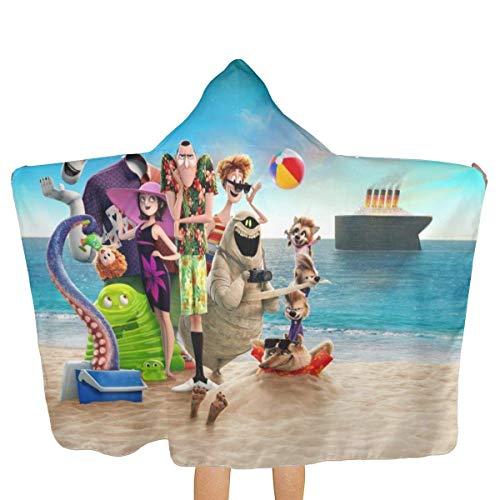 DJNGN Elf Hostel Toalla de baño de Playa Toallas con Capucha Toallas de baño de Secado rápido Bañarse/Piscina/Cubiertas de natación Niños Niñas Niños Suave súper Absorbente