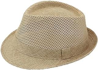 قبعة شمس Wxcgbnstym ، الرحلات. (حجم قابل للتعديل)، البحر، مرغوب بها للشاطئ، فراش الكتان، قبعة شمس صيفية للرجال والنساء