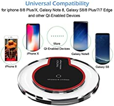 LANCHE QI Wireless UBS Charger Fast Universal Cell Phone Charger All QI Enabled CELLPHONES