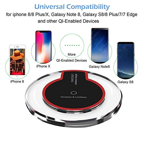 LANCHE QI Wireless UBS Charger Universal Fast Cell Phone Charger All QI Enabled CELLPHONES