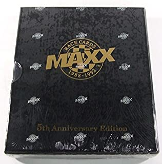 1988-1992 Maxx Race Cards 5th Anniversary Edition Racing Factory Set - Nascar Trading Cards