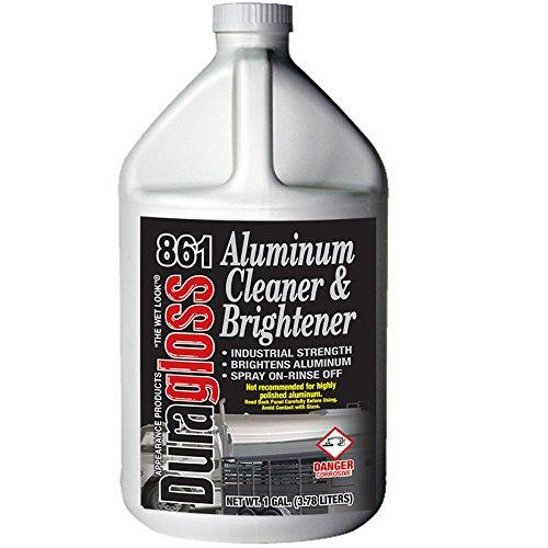 Duragloss 861 Automotive Aluminum Cleaner and Brightener, 1 Gallon, 1...