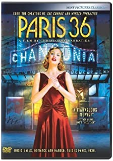 Paris 36 by Sony Pictures Home Entertainment by Christophe Barratier