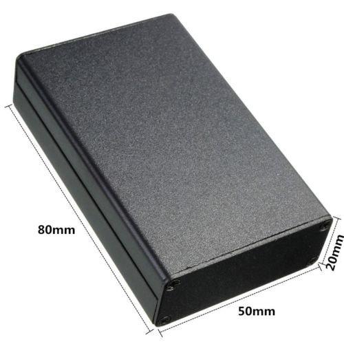 Aluminum Instrument Case Electronic PCB Project Box Enclosure Metal Plastic