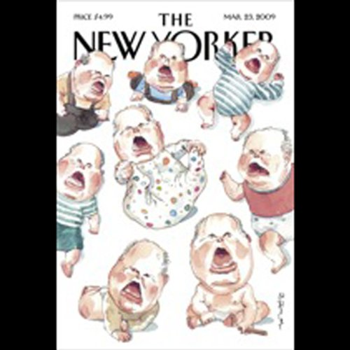 The New Yorker, March 23rd, 2009 (Ron Chernow, Jeffrey Toobin, John McPhee) cover art