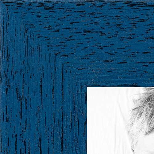 ArtToFrames WOM0066 77900 YBLU 18x24 Barnwood Wood Picture Frame 18 x 24 Blue product image