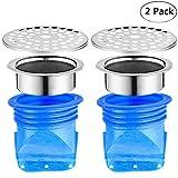 Soleebee Prévention de reflux réglable, Paquet de 2 Drain de plancher de silicone,...