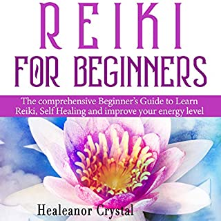Reiki for Beginners audiobook cover art