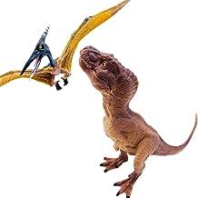 伊豆シャボテン本舗 恐竜 怪獣 おもちゃ フィギュア ティラノサウルス & プテラノドン セット