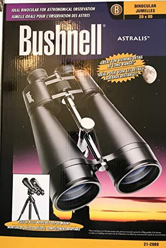 Bushnell 212080 - Prismáticos astronómicos con trípode (20 x 80)