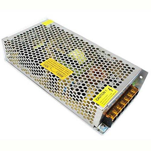 Transformador de fuente de alimentación de conmutación regulada universal de CC 24 V 120 W, 5 A, IP20 para tira de luces LED CCTV - Stock en Reino Unido (120 W, CC 24 V)