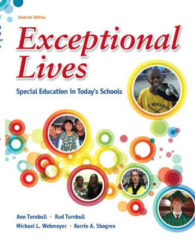 Exceptional Lives: Special Education in Today's Schools Plus MyEducationLab with Pearson eText -- Access Card Package (7