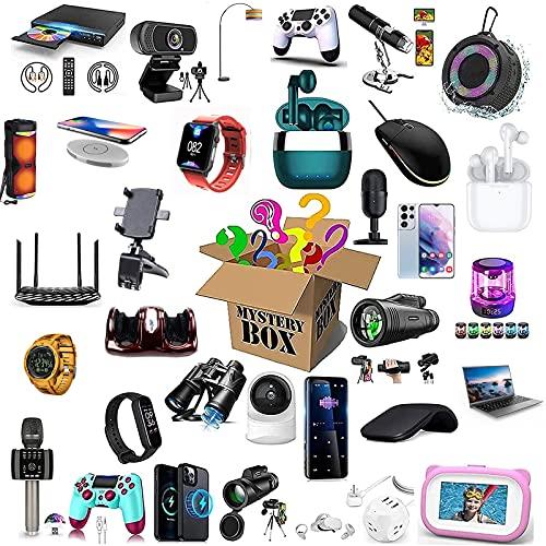RTEY Mystery Box Electronic, Lucky Box, Mystery Gift Box Include Console di Gioco, droni, Tablet, ECC, Tutto, Ottimo Rapporto qualità-Prezzo A