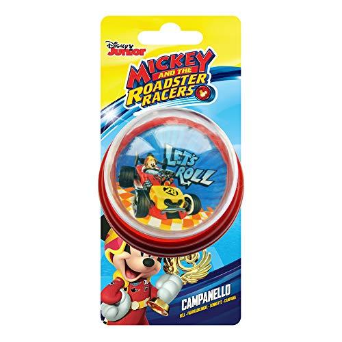 Disney Mickey Mouse, Campanello Squeezy Bambino, Rosso, Universale