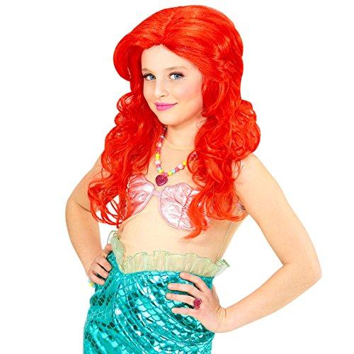 Kinderperücke Meerjungfrau Arielle