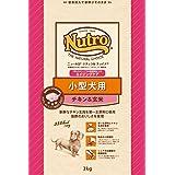 ナチュラルチョイス 小型犬用 シニア犬用 チキン&玄米 3kg×2個セット
