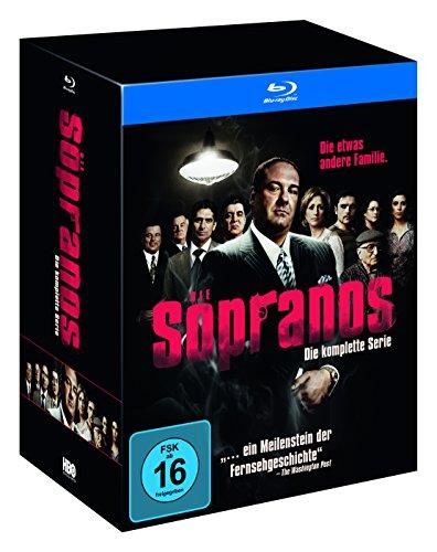 Sopranos - Die komplette Serie (exklusiv bei Amazon.de) [Blu-ray] [Limited Edition]