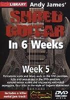 Andy James Shred Guitar in 6 Weeks: Week 5 [DVD] [Import]