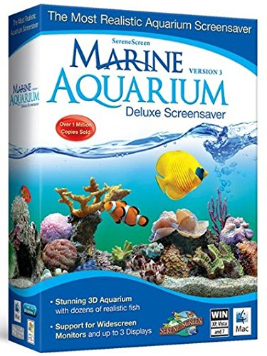 Marine Aquarium Deluxe 3.0 Screensaver (PC/MAC)