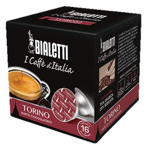 256 Capsule Alluminio Bialetti Mokespresso I Caffe\' D\'Italia Torino