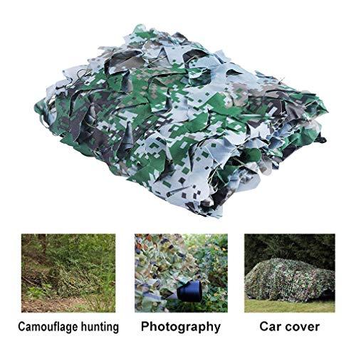 Ocultación De Camuflaje Neto Camping Jungle Red De Camuflaje, For El Jardín Sombreado Pergola Gazebo Al Aire Libre Toldo (Verde) (Color : Green, Size : 4x8m/13x26ft)
