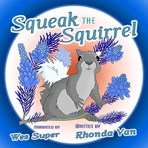 Squeak the Squirrel audiobook cover art