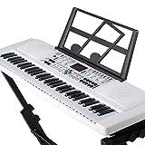 Clavier de Musique pour Piano numérique 61 Touches pour Enfants, Piano à Clavier électrique Portable avec...