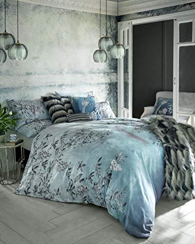 Rita Ora Latimer - Juego de ropa de cama (satén de algodón, 200 x 200 cm), 6 piezas
