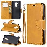 Cas de couverture, Cas pour Portefeuille multifonctionnel LG G7 Coque en cuir de téléphone...
