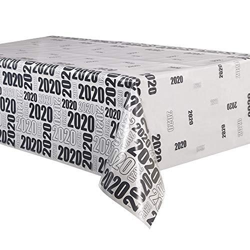 Unieke partij 63666 2020 transparant plastic tafelkleed, 9ft x 4.5ft
