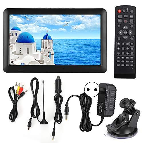 TV analógica DVB-T / T2 de 11 Pulgadas, Reproductor de Video Digital HD portátil para automóvil 1080P con Soporte de Entrada HDMI