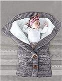 FIRENGOLI Saco de Dormir Unisex para Bebés Recién Nacidos Manta para Bebé...